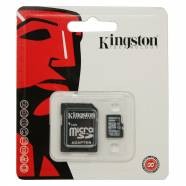 KINGSTON MICROSDXC 128GB CLASS 10 & SD ADAPTER SDC10G2/128GB