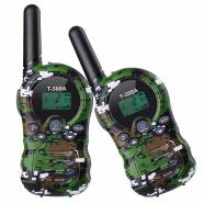 WALKIE TALKIE PMR446MHZ 2PCS LICENSE-FREE 8 CHANNEL