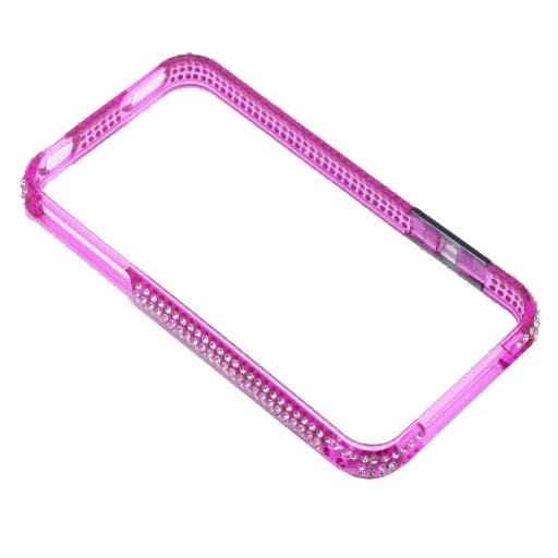 BUMPER IPHONE 4/4S STRASS MORE ΜΩΒ