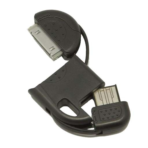 ADAPTOR IPHONE 4/4S/ IPAD 2/3 ΣΕ USB KEYCHAIN - ΜΠΡΕΛΟΚ