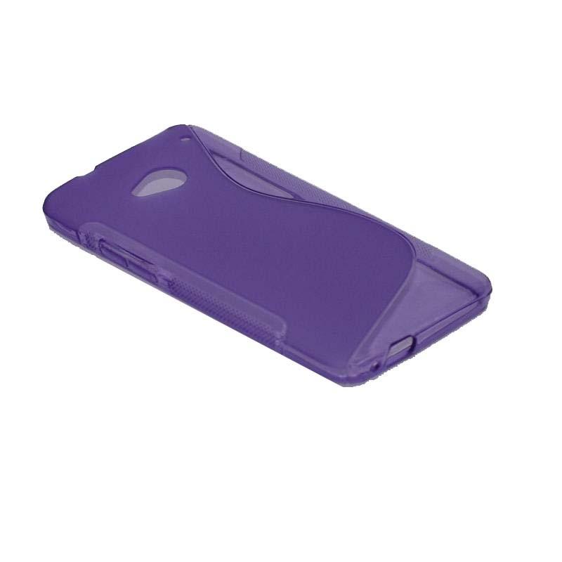 ΘΗΚΗ HTC ONE M7 ΣΙΛΙΚΟΝΗΣ TPU S-LINE ΜΩΒ