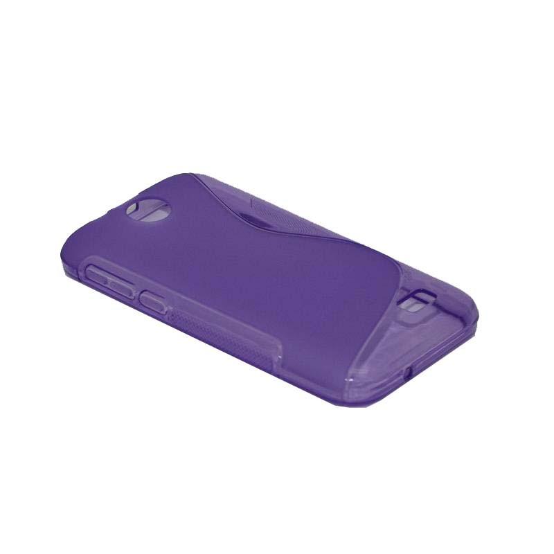 ΘΗΚΗ HTC DESIRE 310 V1 ΣΙΛΙΚΟΝΗΣ TPU S-LINE ΜΩΒ