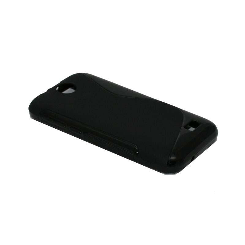 ΘΗΚΗ HTC DESIRE 310 V1 ΣΙΛΙΚΟΝΗΣ TPU S-LINE ΜΑΥΡΟ