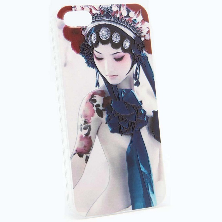 ΘΗΚΗ IPHONE 5/5S/SE BACK COVER GEISHA