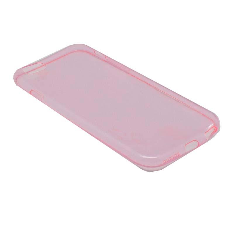 ΘΗΚΗ IPHONE 6/6s ULTRA THIN 0.6mm ΣΙΛΙΚΟΝΗΣ TPU ΡΟΖ