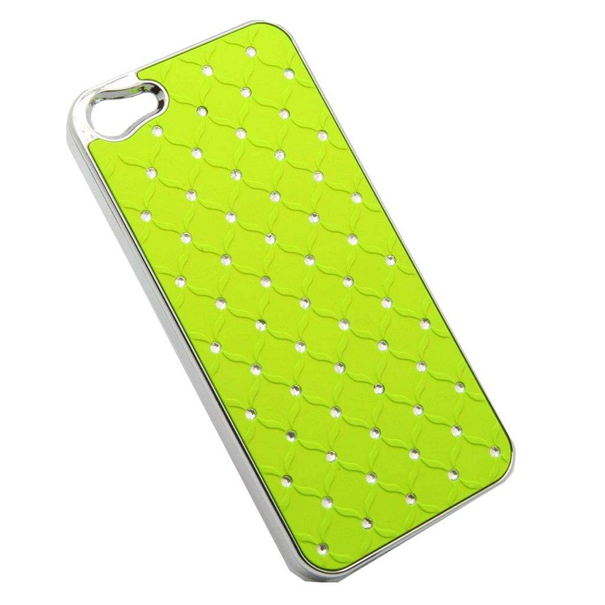 ΘΗΚΗ IPHONE 5/5S/SE BACK COVER MAT STRASS ΛΑΧΑΝΙ