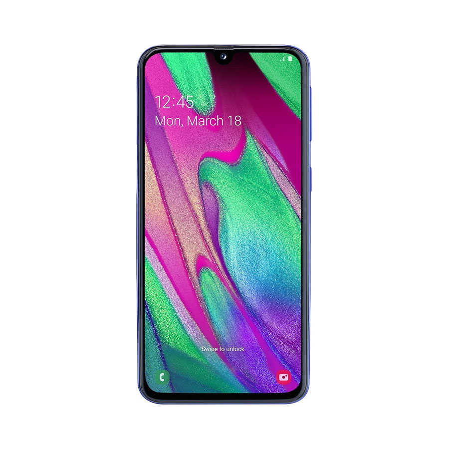 SAMSUNG GALAXY A40 DUAL SIM 64GB BLUE