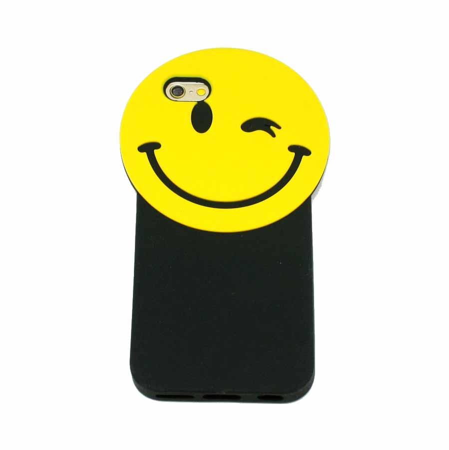 ΘΗΚΗ IPHONE 6/6S BACK COVER 3D SMILE