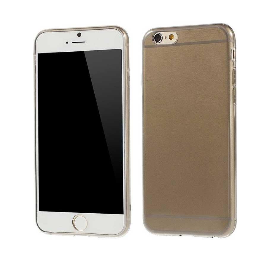 ΘΗΚΗ IPHONE 6/6s ULTRA THIN 0.5mm ΣΙΛΙΚΟΝΗΣ TPU ΓΚΡΙ