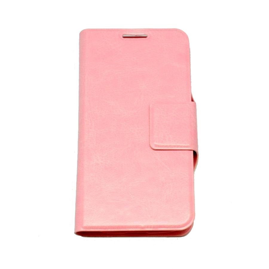 ΘΗΚΗ SAMSUNG S4 mini BOOK CRYSTAL GRAIN ΡΟΖ