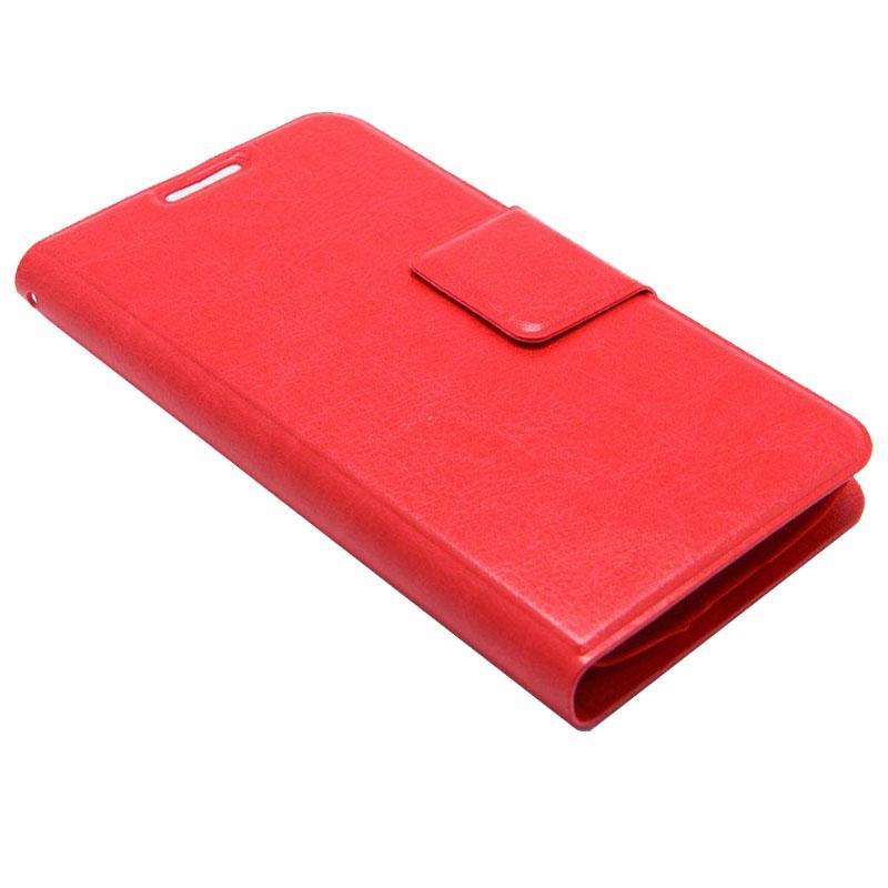 ΘΗΚΗ SAMSUNG S4 mini BOOK CRYSTAL GRAIN ΚΟΚΚΙΝΟ
