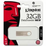 USB FLASH KINGSTON DATA TRAVELER DTSE9H/32GB ALUMINIUM 32GB