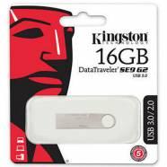 USB FLASH KINGSTON DATA TRAVELER DTSE9G2/16GB ALUMINIUM 16GB USB 3
