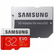 SAMSUNG EVO PLUS 32GB CLASS 10 U1 & SD ADAPTER (MB-MC32GA/AM)