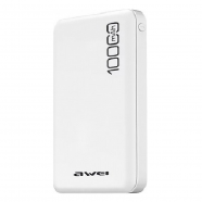 AWEI P28K POWERBANK 10000 mAh WHITE