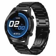 SMARTWATCH MAFAM DT92 BLACK METAL STRAP BT CALL