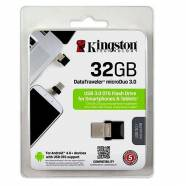 USB FLASH KINGSTON DATA TRAVELER MICRODUO 3.0 32GB